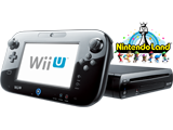 Black Wii U Deluxe + Nintendo Land Bundle - REFURBISHED