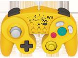 Hori Wii U Battlepad - Pikachu - Front