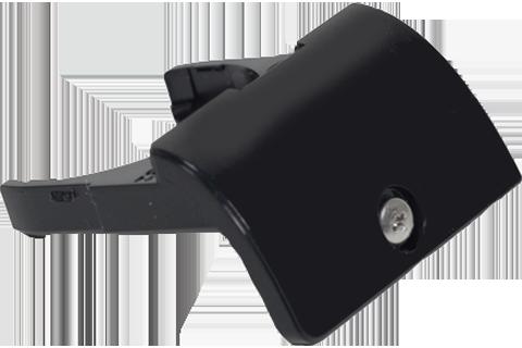 Battery Cover/Holder - Wii U - Black