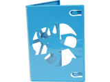 Game Disc Case - Wii U - Blue - Open