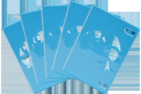 Game Disc Case - Wii U - Blue - 5
