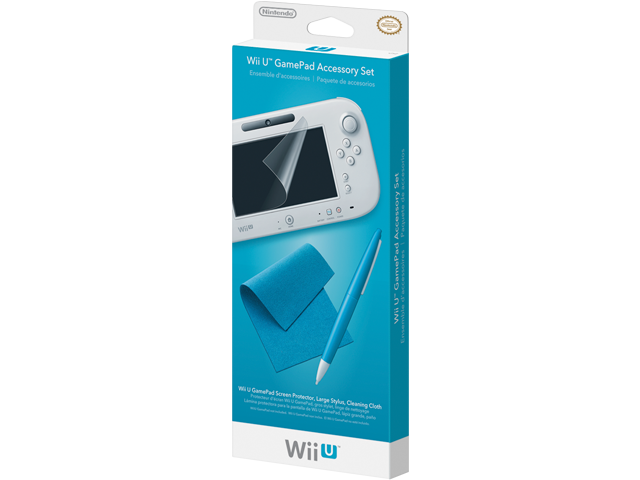 Wii U GamePad Accessory Set Package