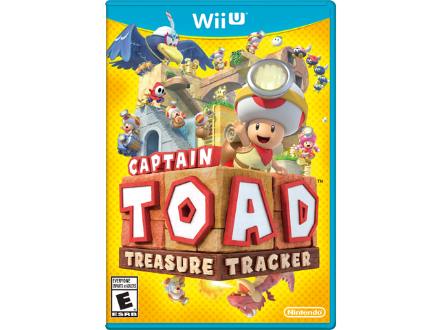 Captain Toad: Treasure Tracker (Wii U) Box Art