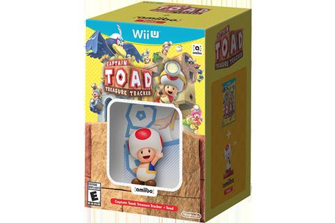 Captain Toad: Treasure Tracker + Toad amiibo Box Art