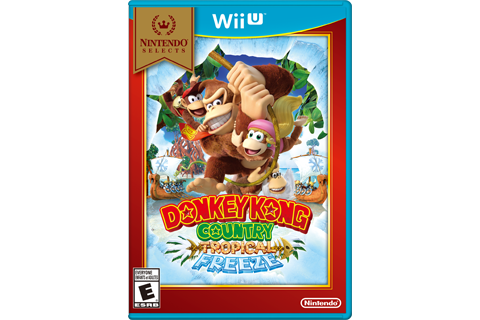 Donkey Kong Country: Tropical Freeze - Nintendo Selects Box Art