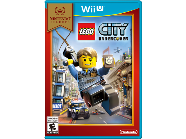 Lego City Undercover (Wii U) Box Art
