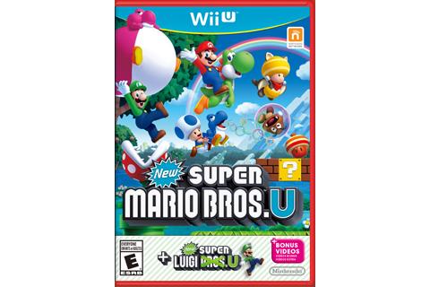 New Super Mario Bros. U + New Super Luigi U - Red Case