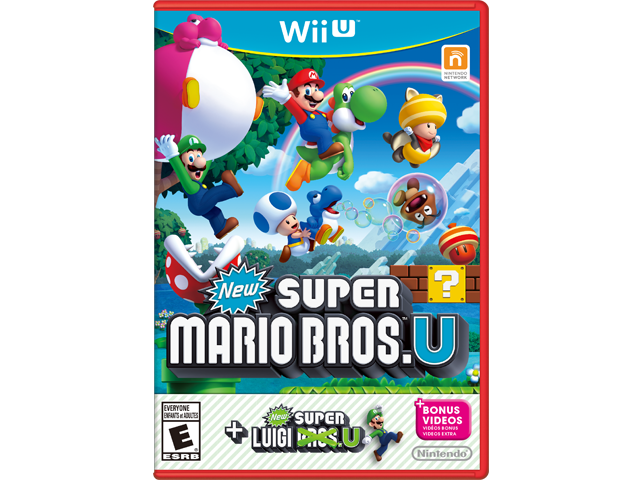 New Super Mario Bros. U + New Super Luigi U - Red Case