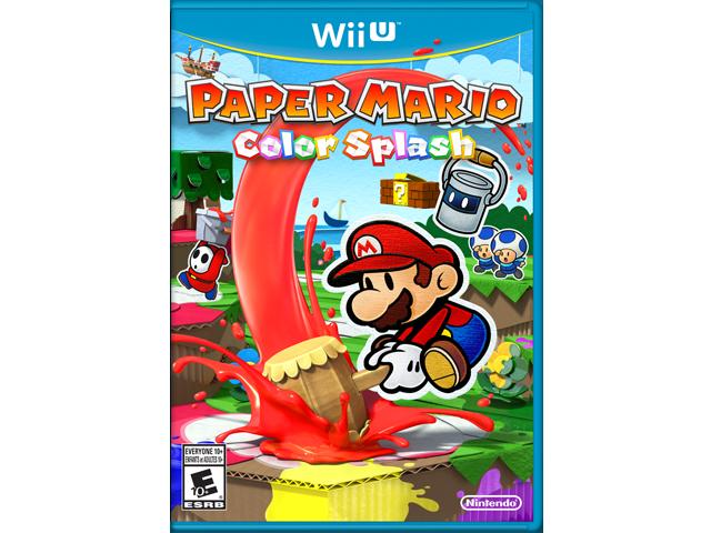 Paper Mario: Color Splash Box Art