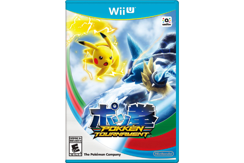 Pokken Tournament Wii U - No Card Box Art