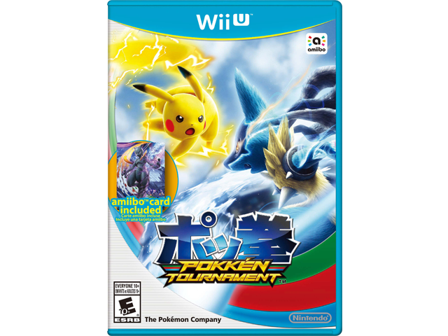 Pokken Tournament Wii U + Card Box Art