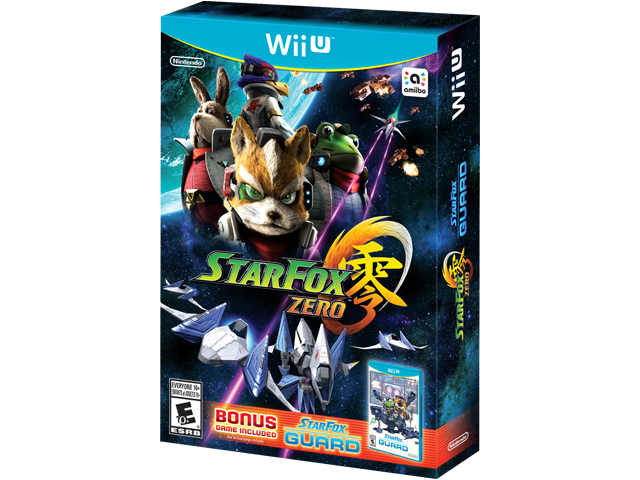 Star Fox Zero + Guard Box Art - Angle