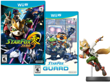 Star Fox Zero + Guard + Fox amiibo Bundle