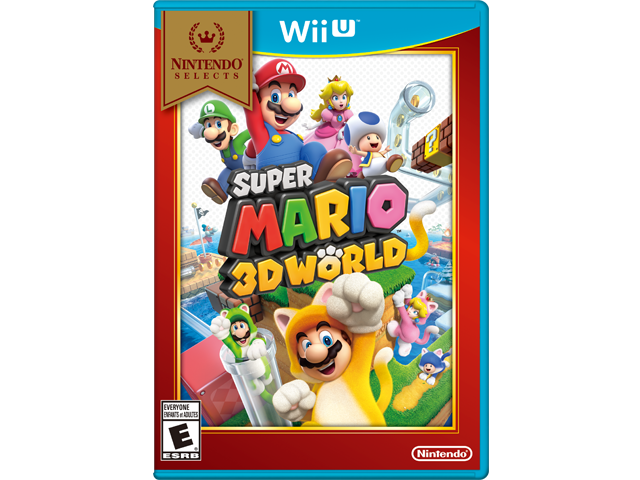 Super Mario 3D World - Nintendo Selects Box Art