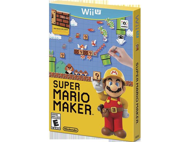 Super Mario Maker (Wii U) Box Art