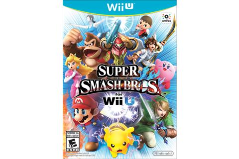 Super Smash Bros. for Wii U Box Art