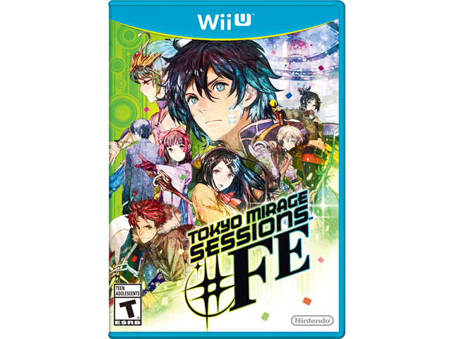 Wii U - Tokyo Mirage Sessions #FE Box Art