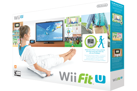 Wii Fit U + Fit Meter + Balance Board Box Art