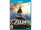 The Legend of Zelda: Breath of the Wild Wii U Box Art