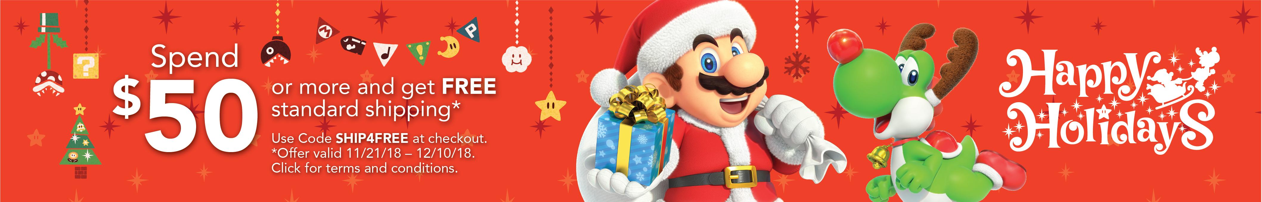 Nintendo Online Store Eshop Gift Card Us 50 Digital Code