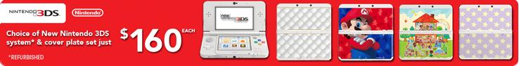 Refurbished New Nintendo 3DS Bundles