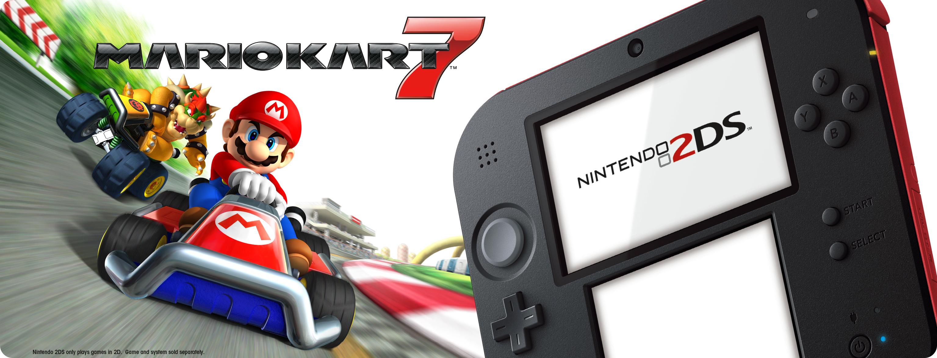 Hero Image-Nintendo 2DS-Mario Kart 7-US