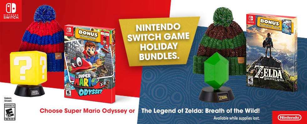 Hero Image-Holiday 2018-Mario + Zelda Bundles-Square-US