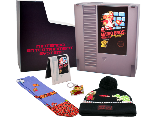 Bioworld - Gift Box - Super Mario Bros. - Items