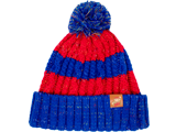 MI - Knit Cap - Mario - Red + Blue Stripes - Front