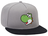 MI - Hat - Yoshi - Gray - Front - Angle