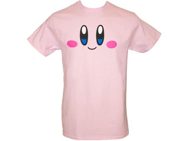 T-Shirt - Kirby - Face - Front
