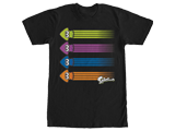 T-Shirt - Splatoon Rainbow Squid - Front