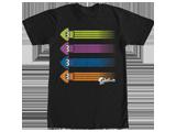 T-Shirt - Splatoon Rainbow Squid - Front