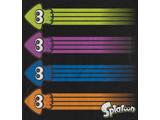 T-Shirt - Splatoon Rainbow Squid - Front - Detail