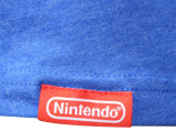 T-Shirt - Splatoon - Weapons - Blue - Front - Tag