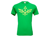 T-Shirt - Triforce - Green + Yellow - Front