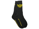 Bioworld - Socks - The Legend of Zelda Hyrule Crest - Black