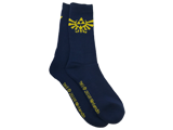 Bioworld - Socks - The Legend of Zelda Hyrule Crest - Navy