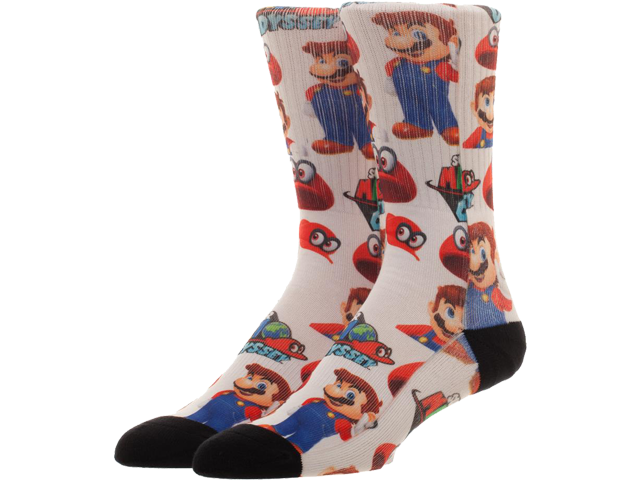 Socks - Super Mario Odyssey - On