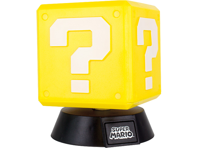 Paladone - Super Mario Question Mark Light - 3D