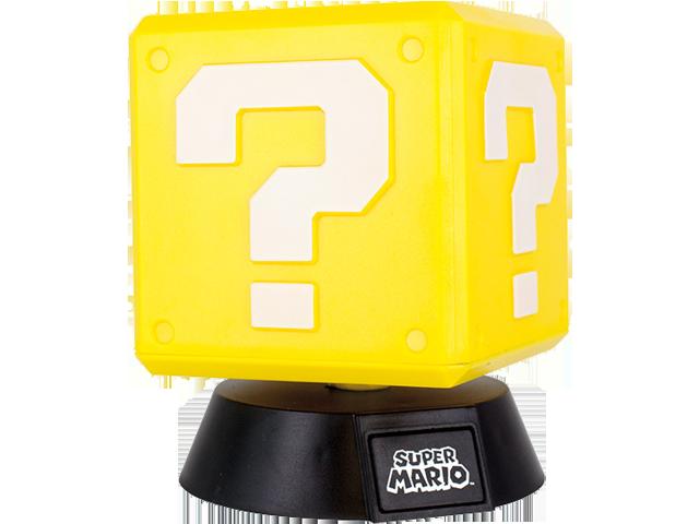 Paladone - Super Mario Question Mark Light - 3D