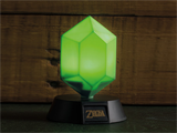 Paladone - The Legend of Zelda Green Rupee Light - 3D - In Use