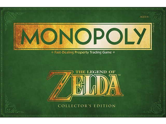 USAopoly - Monopoly - The Legend of Zelda - Package - Front