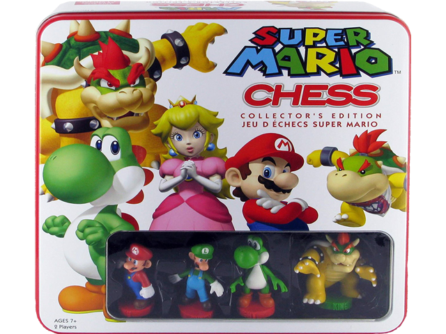 USAopoly - Chess - Super Mario Bros. - Package