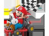 Hallmark - Ornament - Mario Kart - Mario - Front