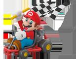 Hallmark - Ornament - Mario Kart - Mario - Front - Scale