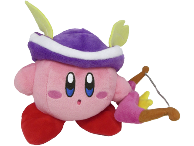 Little Buddy - Kirby - Plush - Kirby - Sniper - 5 inch