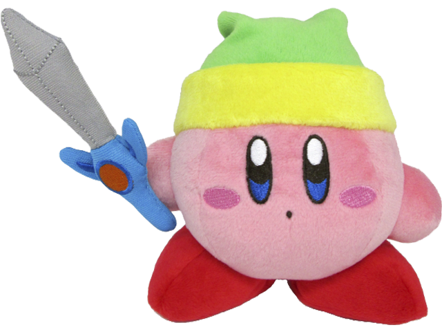 Little Buddy - Kirby - Plush - Kirby - Sword - 6 inch