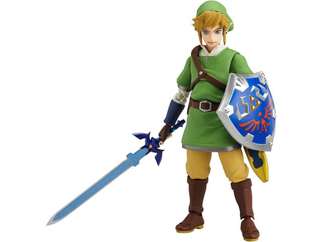Goodsmile - Figure - The Legend of Zelda - Figma - Stance