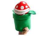 Hashtag Collectibles - Puppet - Giant Piranha Plant - Closed